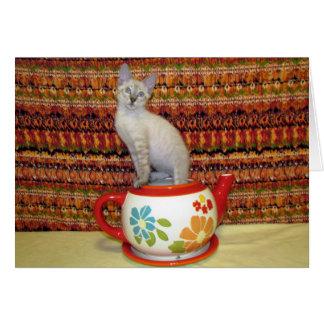 Phoenix - Spot of Tea?  Greeting Card