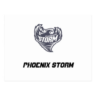 Phoenix Storm Football Club Postcard