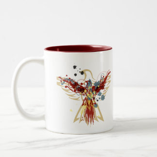 Phoenix Two-Tone Coffee Mug