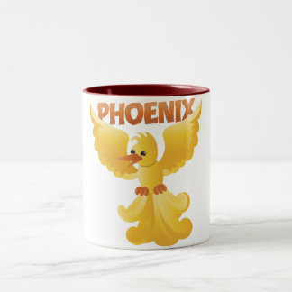 phoenix ! Two-Tone coffee mug