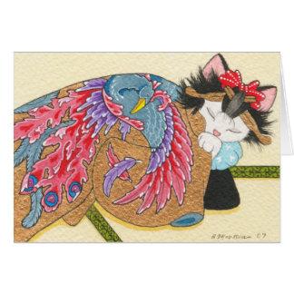 Phoenix uchikake notecard