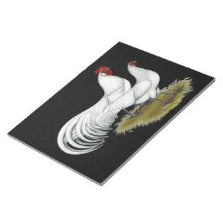 Phoenix:  White Pair Notepad