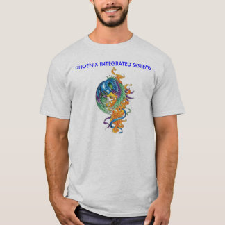 Phoenix white, PHOENIX INTEGRATED SYSTEMS T-Shirt