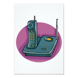 Phone And Answering Machine Invitations