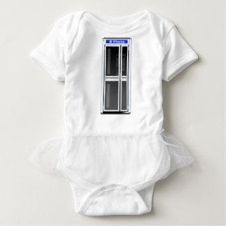 Phone Booth Baby Bodysuit