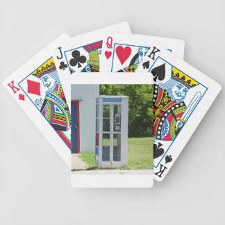 Phone Booth Bicycle Playing Cards