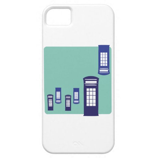 Phone Booth iPhone 5/5S Cover