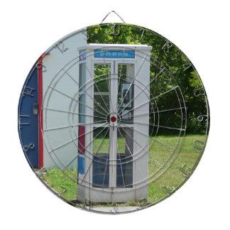 Phone Booth Dartboard