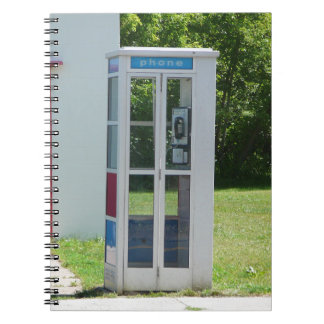 Phone Booth Notebook