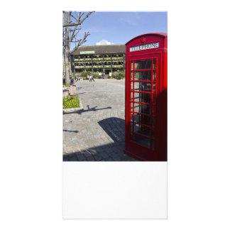 Phone Box London Custom Photo Card
