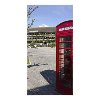Phone Box London Personalised Photo Card