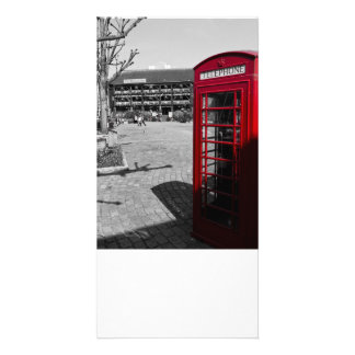 Phone Box London Photo Cards