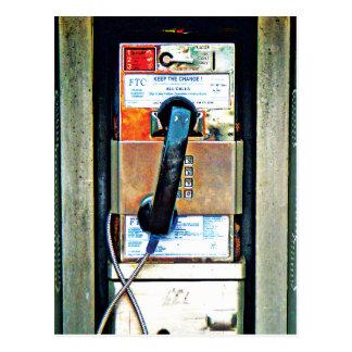 Phone box postcard
