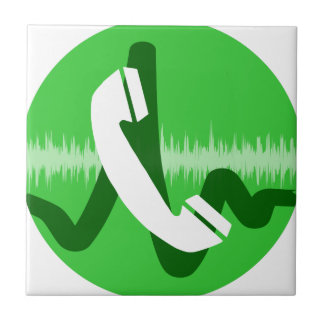 Phone Call Icon Tile