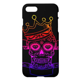 Phone Case APPLE iPhone 8/7 KING SKULL