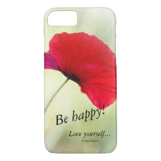 """Phone case """"Be happy!"""""""