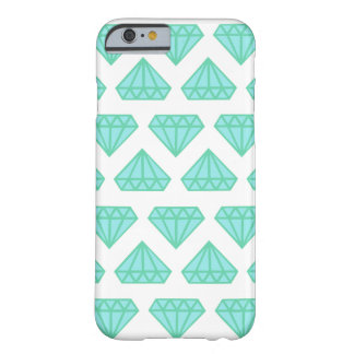 Phone Case: Blue Diamonds Barely There iPhone 6 Case