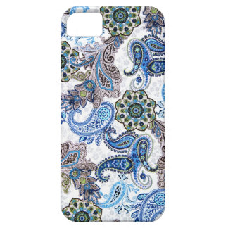 phone case-blue paisley-Blackberry-Samsung iPhone 5 Cover