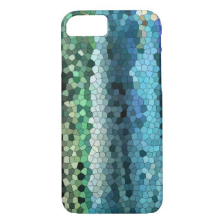 phone case blue-teal- mosaic-blackberry-iphone