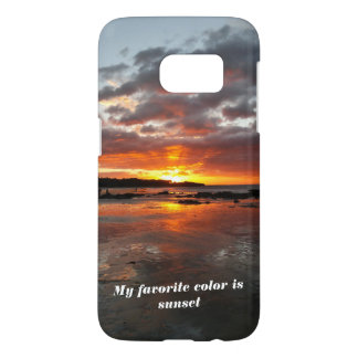 Phone case for a sunset lover
