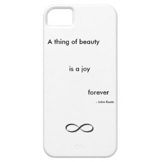 Phone case - John Keats, A thing of beauty
