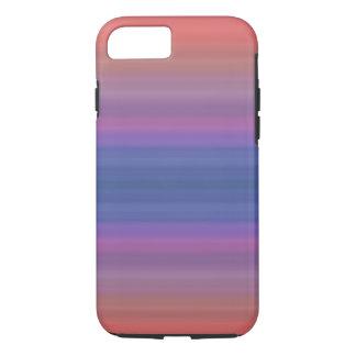 Phone case -- Multi-colored striped background