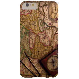 Phone Case-old map Barely There iPhone 6 Plus Case
