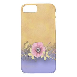 Phone case -- Purple gradient background