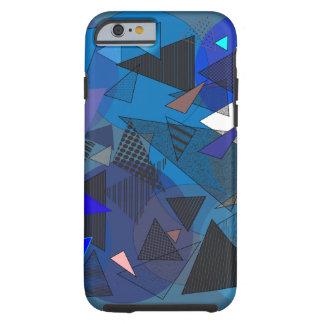 """Phone Case """"Triangles Denim"""""""