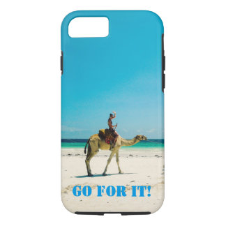 Phone Case with a Camel Picture -- Customizable