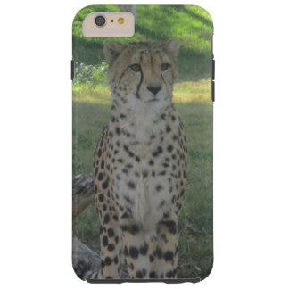 Phone case with cheetah