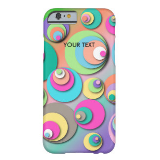 "Phone Case with ""Circles Pastel"""