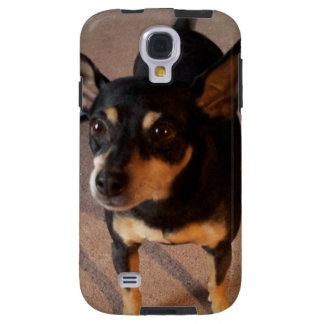 Phone Case with Cute Minpin Dog Photo