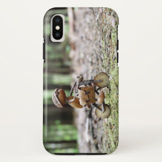Phone case with funny acron elf on the bicycle