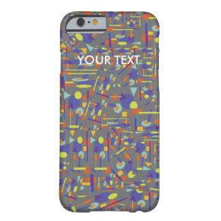 "Phone Case with ""Geo-Crazy"" design"