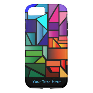 "Phone Case with ""Stained Glass"" design"