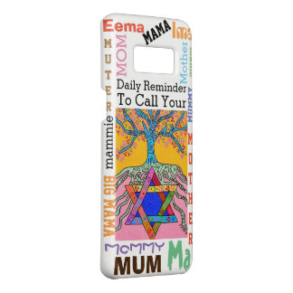 Phone Case Yiddish Star of David Call Mother 2