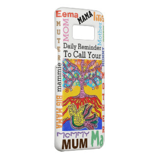 Phone Case Yiddish Tree of Life Call Mother