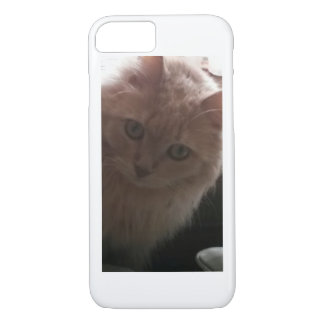 Phone cover with cat