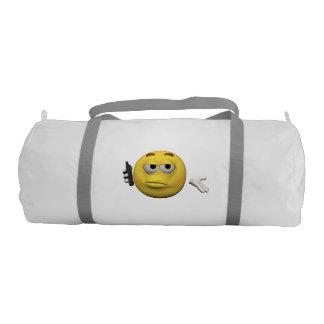 Phone emoticon gym bag