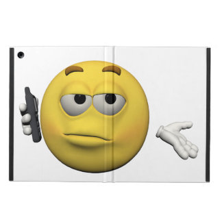 Phone emoticon iPad air case