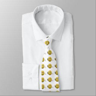 Phone emoticon tie