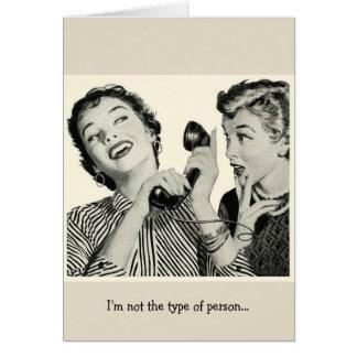 Phone Friends, Card