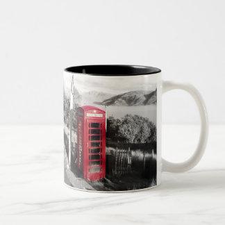 Phone Home Two-Tone Coffee Mug