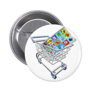 Phone in shopping cart button