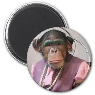 phone monkey 2 inch round magnet