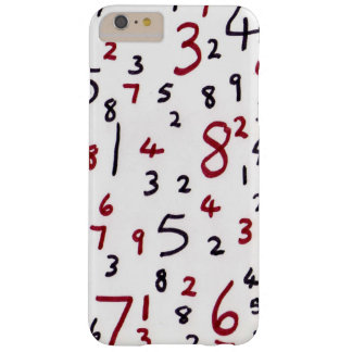 Phone numbers barely there iPhone 6 plus case