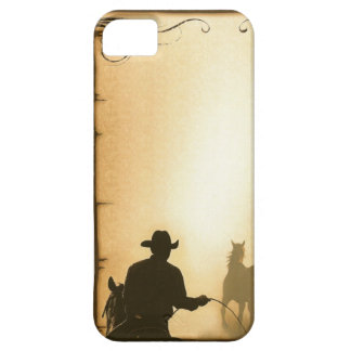 phone protector case= Western Ranch Roping Cowboy Case For The iPhone 5
