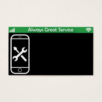 Phone repair business cards and business card templates for Phone repair business card