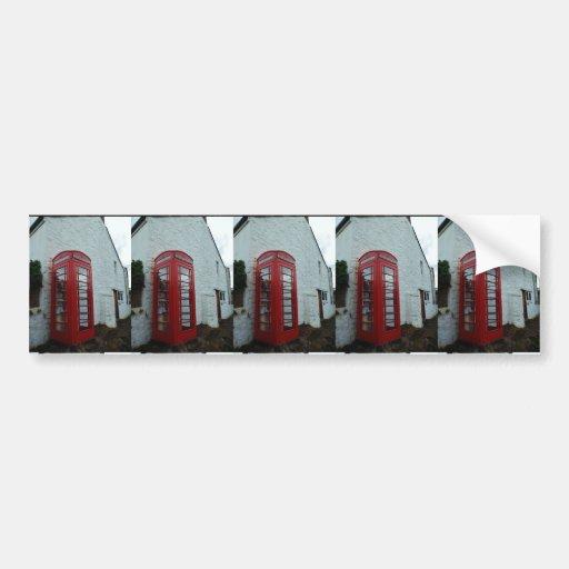 Phonebox Book Exchange Bumper Stickers